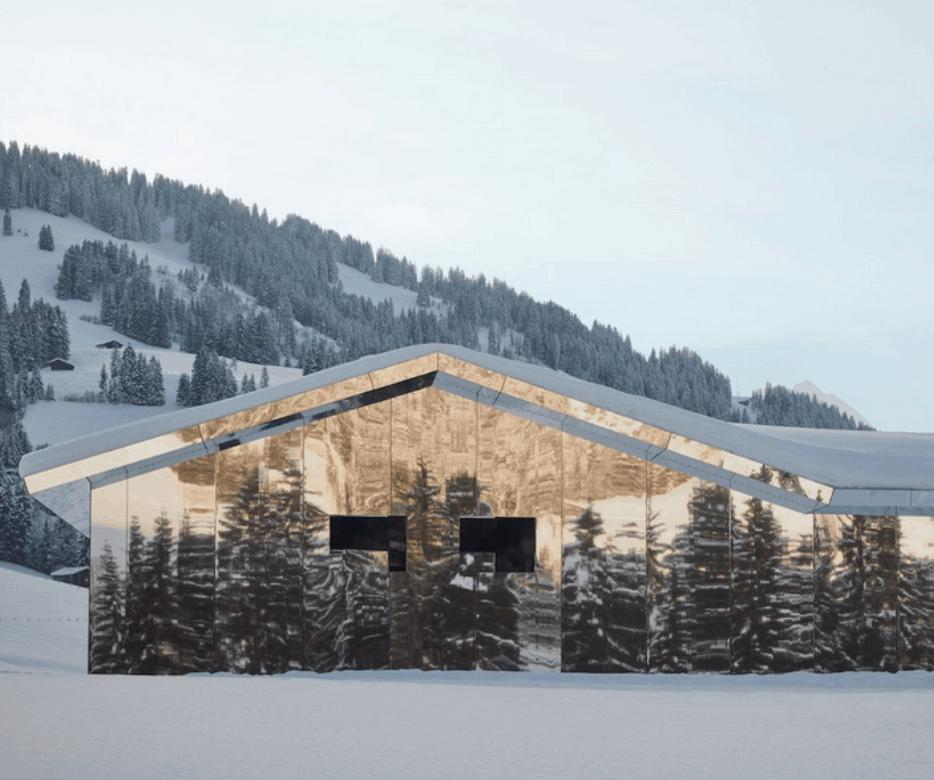 La Mirage Artwork in Gstaad Switzerland
